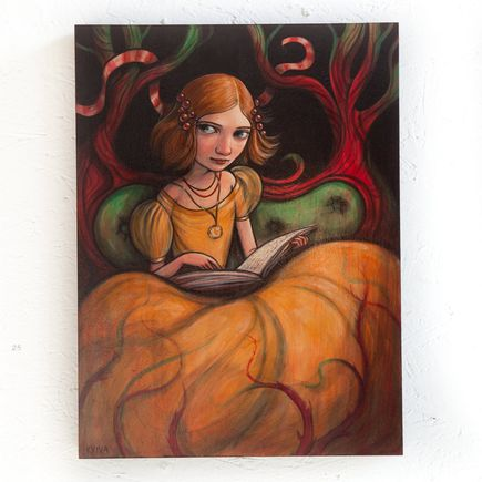 Kelly Vivanco Original Art - A Little Story