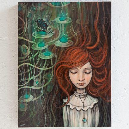Kelly Vivanco Original Art - Blue Bee