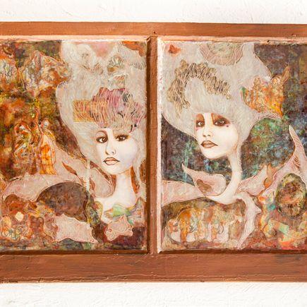 DeEtta Harris Original Art - The Journey of Alice