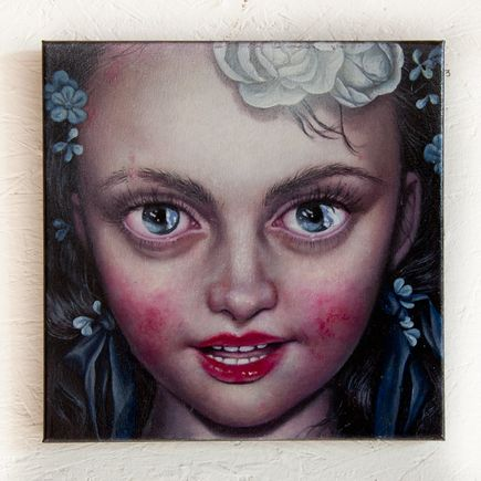 Jana Brike Original Art - The Night Ratures of Little Miss Emily