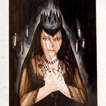 Edith Lebeau Original Art - The Evil Queen