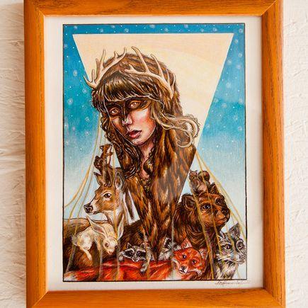 Megan Frauenhoffer Original Art - Allerleirauh