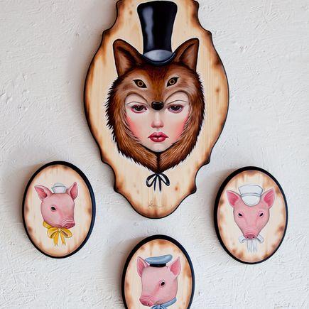 Audrey Pongracz Original Art - Let Me In