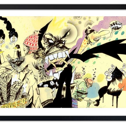 Jim Mahfood Art Print - The Party