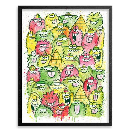 Kevin Lyons Art - Original Rockers - Framed