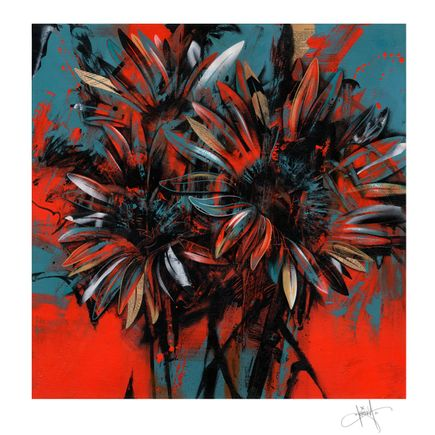 Dave Kinsey Art Print - 3R Daisies