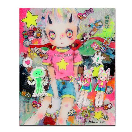 Hikari Shimoda Original Art - Mars Attacks - Original Artwork