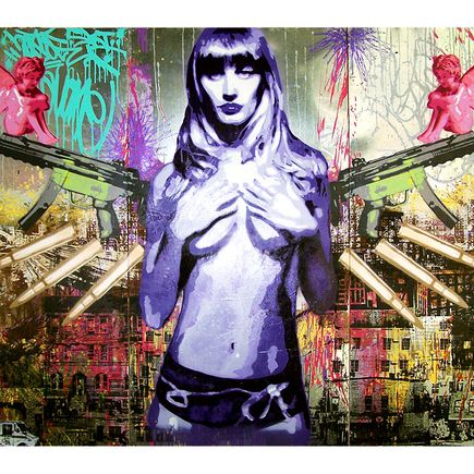 Max Wiedemann & Avone Art Print - New York Angel