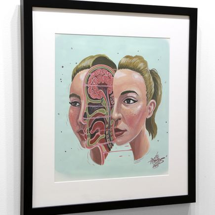 Nychos Original Art - Cross Section of Lucy - Original Painting