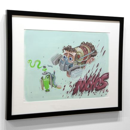 Nychos Original Art - Dissection of a Graffiti Writer - Original Painting