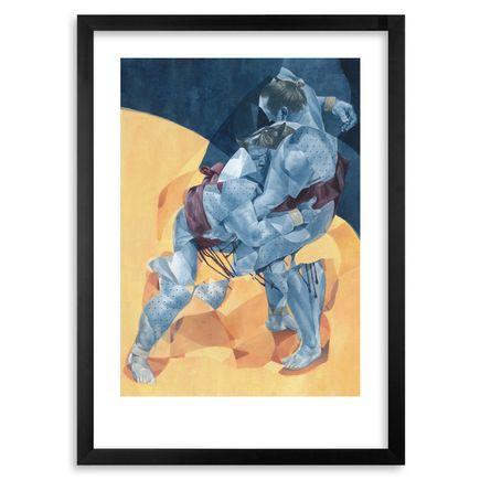 Morik Art Print - Sumo Wrestler 3