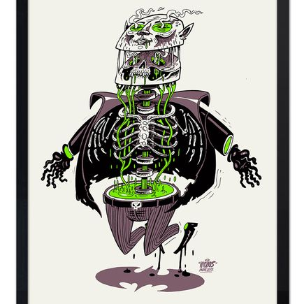 Nychos Art - Anatomy of A Vampire Green Edition - real one