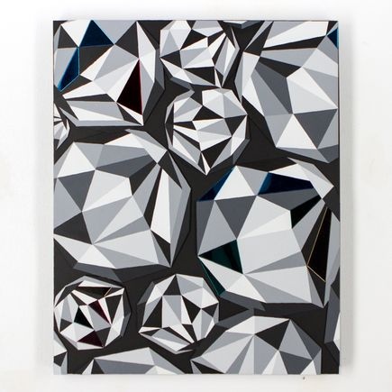 Naturel Original Art - Diamond Cluster 1