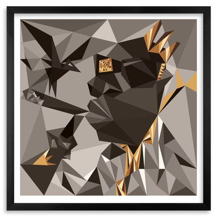 Naturel Art - Picasso Biggie - 24 x 24 - Gold-Leaf Edition