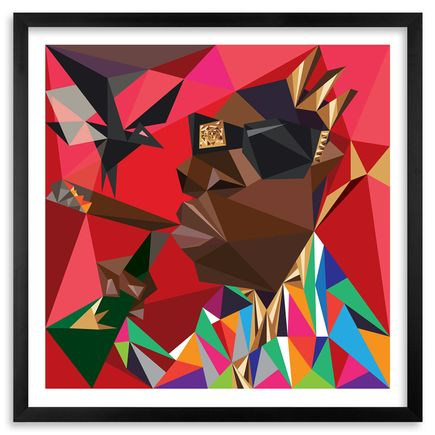 Naturel Art Print - Picasso Biggie - 12 x 12 Edition