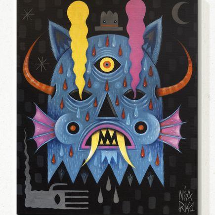 Niark1 Original Art - Blue Demon