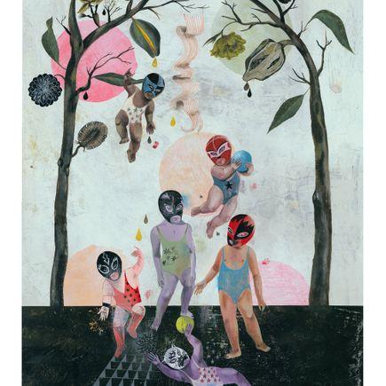 Olaf Hajek Art Print - Playground
