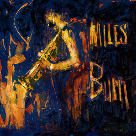 1xRUN Editions Original Art - Miles Burn by William Wray