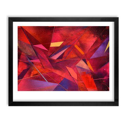 Poesia Art Print - Geometric Letter Study