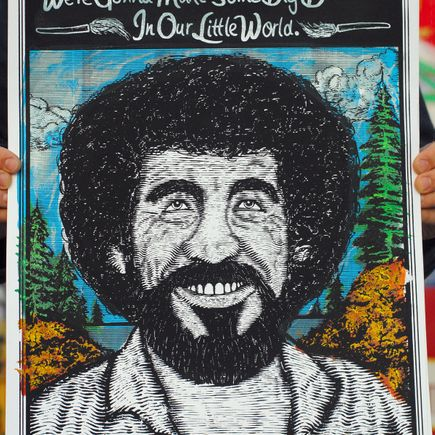 Zeb Love Art Print - Bob Ross Standard Edition
