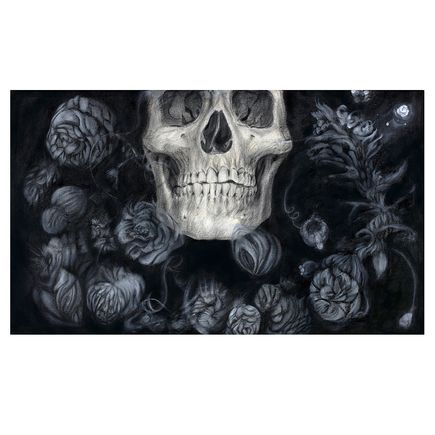 Sergio Barrale Original Art - Ghost Flowers - Original Artwork