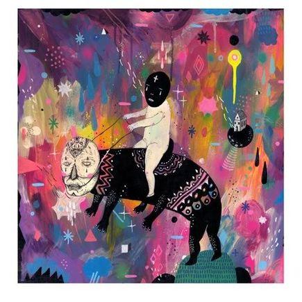 Saddo Art Print - Ride