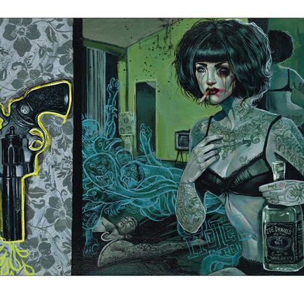 Serge Gay Jr. Art Print - Joe Blow