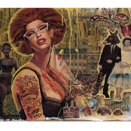 Serge Gay Jr. Art Print - Love Drug