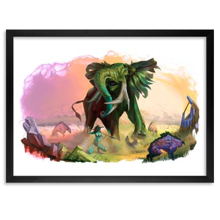 Steven Lopez Art - Greet Them With Fire - Framed