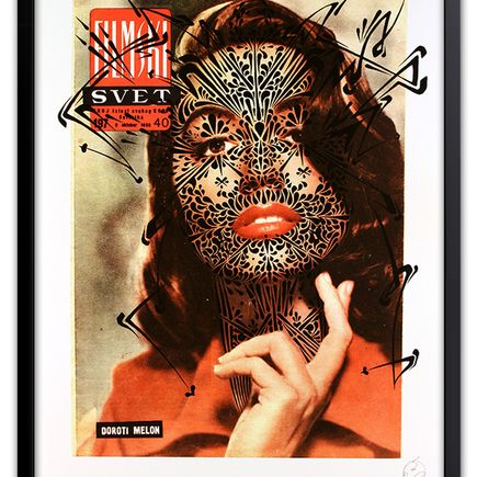 Stinkfish Art Print - Svet Thorns (Black Edition)