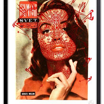 Stinkfish Art Print - Svet Thorns (Red Edition)
