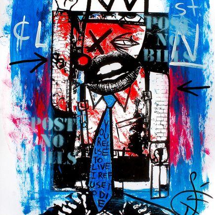 Nobody Art - Corporate Clown