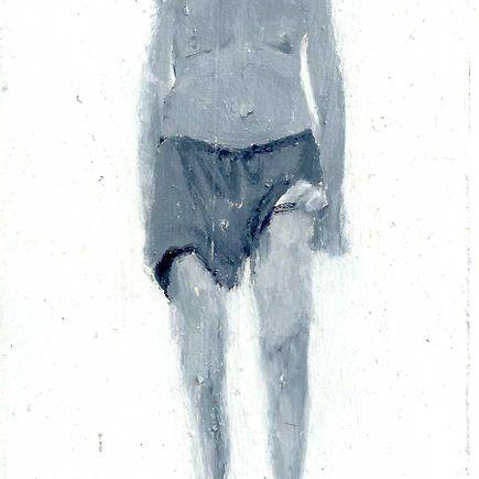 Brett Amory Original Art - Lil Homies - 50