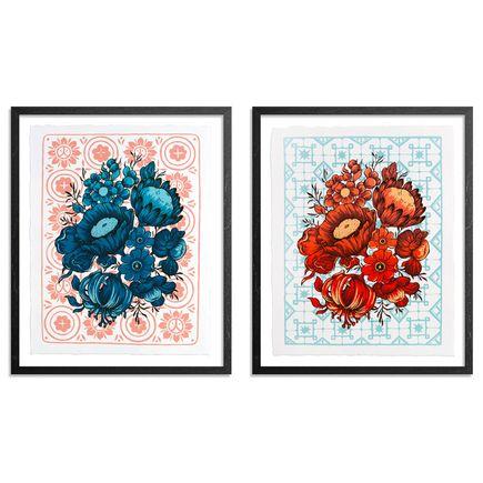 Ouizi Art Print - Huo + Shui - 2 Print Set