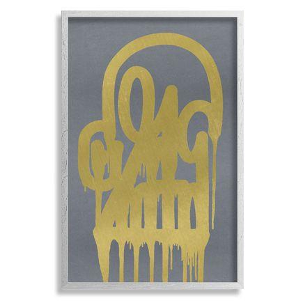 Katsu Art - Timeless Skull - Gold Shadow