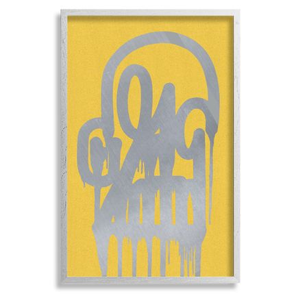 Katsu Art - Timeless Skull - Silver Gold