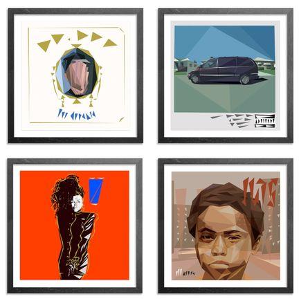 Naturel Art - 4-Print Set - Naturel Record Store Day Vol. I