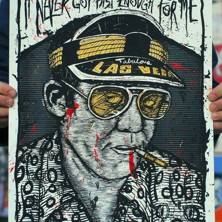 Zeb Love Art Print - Hunter S Thompson