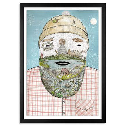Aaron Glasson Original Art - Alaskan Beard - Original Painting