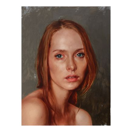 Aaron Nagel Original Art - Portrait Of Bailee