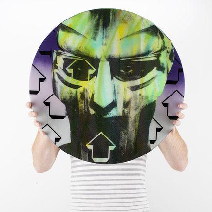 Tavar Zawacki Original Art - Cut The Record - MF Doom- Original Artwork