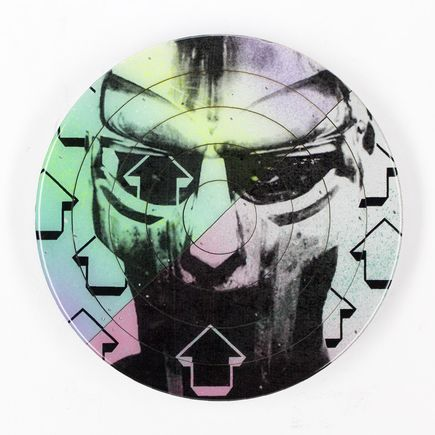 Tavar Zawacki Hand-painted Multiple - Cut The Record - MF Doom #2 - Hand-Painted Multiple