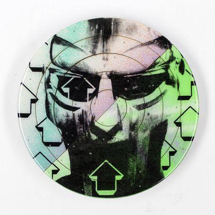 Tavar Zawacki Hand-painted Multiple - Cut The Record - MF Doom #3 - Hand-Painted Multiple