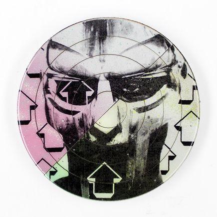 Tavar Zawacki Hand-painted Multiple - Cut The Record - MF Doom #4 - Hand-Painted Multiple