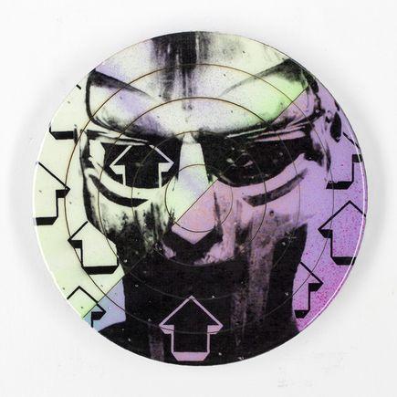 Tavar Zawacki Hand-painted Multiple - Cut The Record - MF Doom #5 - Hand-Painted Multiple