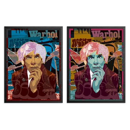 Abcnt Art Print - 2-Print Set - This Means War-Hol