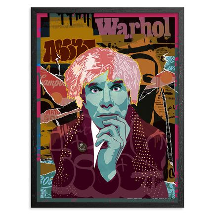 Abcnt Art Print - Variant II - This Means War-Hol