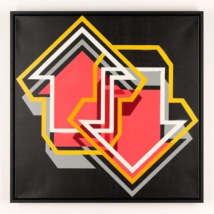 Tavar Zawacki Original Art - Balance (Red)
