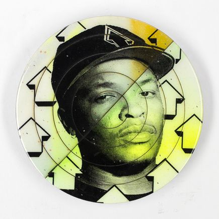 Tavar Zawacki Hand-painted Multiple - Cut The Record - Dr. Dre #3 - Hand-Painted Multiple