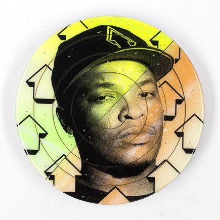 Tavar Zawacki Art - Cut The Record - Dr. Dre #4 - Hand-Painted Multiple